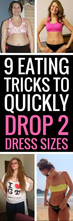 9 eating tips and tricks to help you shed 20 pounds quickly - they really work!