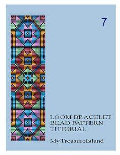 À vendre sont perle Loom géométriques Motif 5, 6, 7 modèle de Bracelets multicolore en format PDF. Prix pour nimporte quel 1 modèle est de 5$. Sil vous plaît, permettez-moi de connaître le numéro de modèle si vous passez votre commande ou choisissez dans le menu déroulant. Je vais e-mail vous le PDF du dossier dans les 24 à 48 heures de paiement soldé, généralement plus tôt. Acheter plus de 1 modèle et enregistrer.  Pour tous ces motifs, jai utilisé les perles de Rocaille Miyuki Delica…