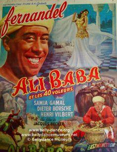 Ali Baba et les 40 voleurs, réal. Jacques Becker, 1956.