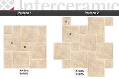 #interceramic Arizona Golden 16x16 & 8x8 Lake Bathroom, Bathrooms, Tile Layout, Tile Patterns, Tile Floor, Woods, Layouts, Arizona, Tiles