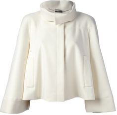 Alexander McQueen oversized coat on shopstyle.com
