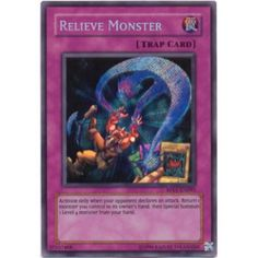 Yu-Gi-Oh! Card RP01-EN093 Relieve Monster (Secret Rare)