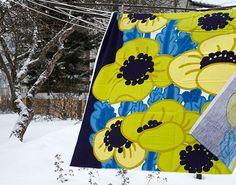 Tampella fabric by Marjatta Metsovaara Finland Vintage Floral, Retro Vintage, Pattern Design, Print Design, Marimekko, Vintage Textiles, Finland, Printing On Fabric, Vintage Fashion