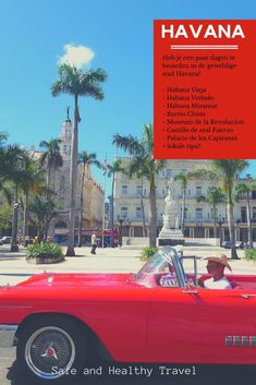 Do you have a couple of days to spend in Havana? It is a great city and deserves the time to explore to the fullest! Read my tips on where to go in Havana! Cienfuegos, Old Fort, Fidel Castro, Havana Cuba, Life Goes On, Gulf Of Mexico, Historical Pictures, Travel Information, Beautiful Buildings