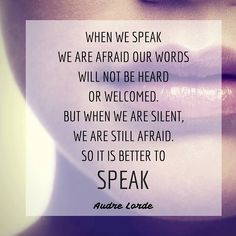 The Eloquent Woman's weekly speaker toolkit Famous Speeches, Womans Weekly, Public Speaking Tips, Audre Lorde, Woman Quotes, Great Quotes, Helpful Hints, Tattoo Quotes, Good Things