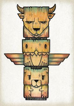 The Legends Art Print by Chump Magic | Society6