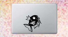 Magikarp Pokemon Notebook/Macbook Vinyl Aufkleber Mac Decals, Macbook Decal, Pokemon, Notebook, Snoopy, Vintage, Etsy, Fictional Characters, Art