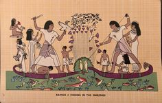 March Colors, Life In Ancient Egypt, Africa, Post Card, Comics, Fishing, Cards, Ebay, Cartoons