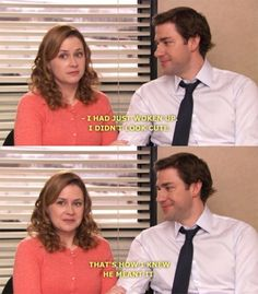 Because they proved that you shouldn't have to try to impress the person you're with. | 21 Ways Jim And Pam Ruined All Other Relationships For You
