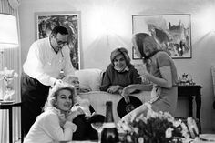 Marilyn Monroe attending a private party given by Henry Weinstein and his wife Irena in Beverly Hills, 1962.