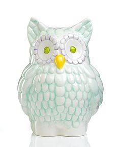Gorham Bank, Merry Go Round Pitter Patter Owl - Collectible Figurines - for the home - Macy's