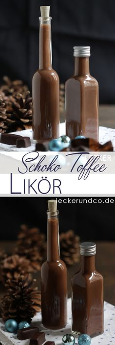 Chocolate Toffee Liqueur – Desserts World Summer Drink Recipes, Drinks Alcohol Recipes, Non Alcoholic Drinks, Cocktails, Banana Colada, Grilled Salmon, World Recipes, Plated Desserts, Diy Food