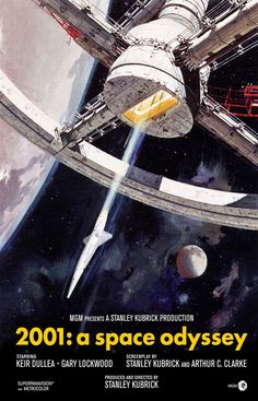 2001: A Space Odyssey, 1969. The best sci-fi movie ever made.