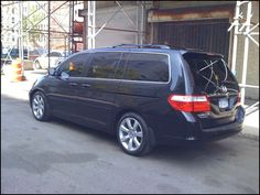 Tire Size for Honda Odyssey 2007