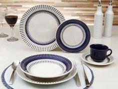 Aparelho de Jantar Actual Colb 30 Peças - Biona Cerâmica