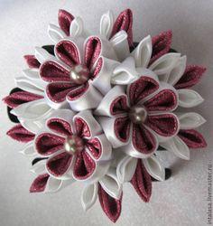 канзаши - японские цветы