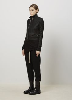 Visions of the Future // Rick Owens Classic Stooges Jacket (Black)