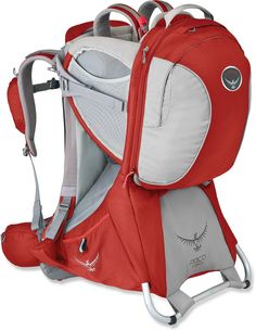 A great way to share the outdoors with his little one! Osprey Poco Premium Child Carrier. #REIGifts
