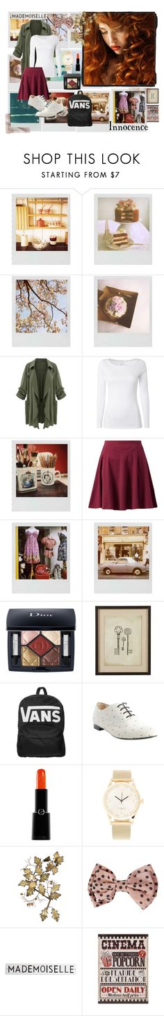 """""""An Innocent Autumn Look"""" by naomi8417 ❤ liked on Polyvore featuring Polaroid, White Stuff, Christian Dior, Ethan Allen, Vans, Tod's, Giorgio Armani, Triwa, C. Jeré and Miso"""