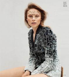 Arty with model Naida Hrnic - Barbara Bui