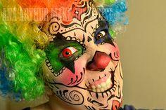 ana arthur make-up artist: Halloween