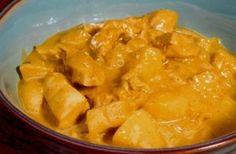 Frango ao Curry – Receitas de Comidas