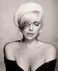 Charlize. So unfairly perfect it makes me want to throw a goat :)
