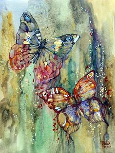 40 Adorable Watercolor Painting You must See
