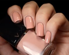 Cliquot, 2 coats A warm, peachy neutral shade