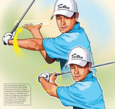 Most swing errors happen when you push your backswing beyond its natural…
