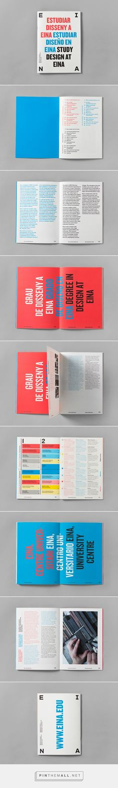 Study design at Eina on Behance... - a grouped images picture - Pin Them All