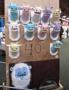 Yetis and Friends