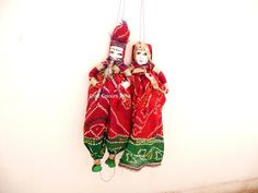 Banjara puppets, indian dolls, bohemia collectible doll with pungi/flute marionettes, tirbal eco friendly indian toys, red ethnic home decor Diwali Decorations, Indian Wedding Decorations, Beaded Mirror, Indian Doors, Ethnic Home Decor, Wedding Doll, Indian Crafts, Garland Wedding, Red Green