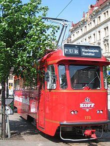 Spårakoff - the pub tram | Helsinki
