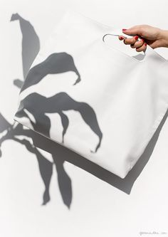 Spring Whites! / Modern Weaving Clutch / Garance Doré