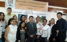 Reynaldo Miguel Zavaleta nuevo presidente de la  Sociedad oaxaqueña de salud pública