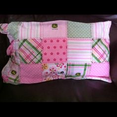 Your place to buy and sell all things handmade John Deere Room, Cuddle Pillow, Button Flowers, Just For Fun, Krystal, Cuddling, Holiday Gifts, Quilt Patterns, Projects To Try