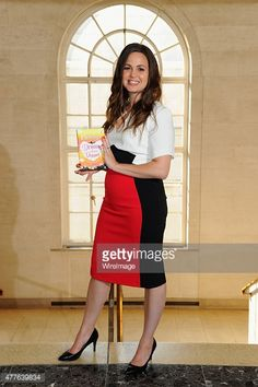 Giovanna Fletcher attends the launch of her book 'Dream A Little Dream' at on June 18, 2015 in London, England.