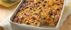 Breakfast casseroles don't get any easier than this! Prepped in just 20 minutes and easily made-ahead and stored for the next morning, this is the breakfast casserole recipe you need to conquer your next brunch. The best part? It's crowd-sized, so everyone can enjoy a piece (and then some)!