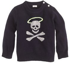 J.Crew Baby cashmere sweater in halo skull on shopstyle.com