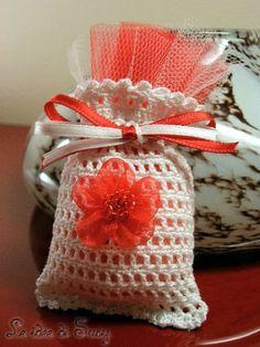 Portaconfetti Romantico di Le idee di Susy su DaWanda.com