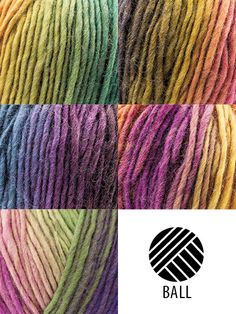 Perfect for creating cuddly accessories, this yarn is variegated to give any project an interesting, textured look. The wide range of colors will give you umpteen possibilities!