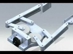 4 Bar Linkage End Effector, Robot Gripper Animation - YouTube