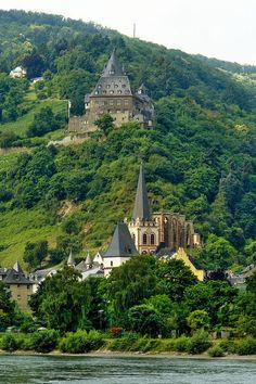 Castle Stahleck, Rhineland-Palatinate, Germany
