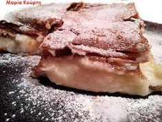 Συνταγές για διαβητικούς και δίαιτα: Μπουγάτσα ολικής με στέβια !!! Greek Desserts, Low Carb Desserts, Healthy Desserts, Sugar Free Recipes, Free Food, Pork, Ice Cream, Sweets, Eat