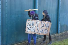 Shaking the walls of Yarl's Wood: a call to action