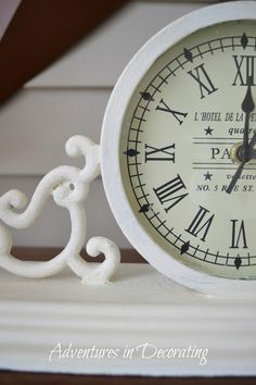 French clock from HomeGoods
