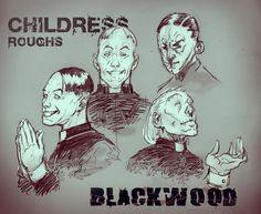 Character Breakdown from Blackwood. Art by Kavika.