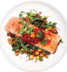 Marc Murphy's Salmon, Red Quinoa and Arugula Salad