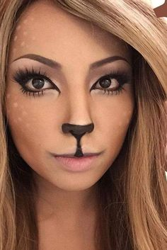 Doe a deer... facepaint